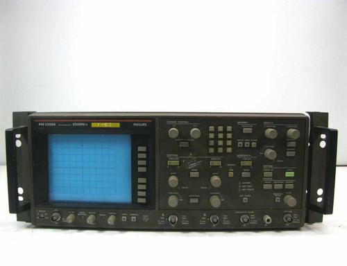 Fluke / Philips PM 3320A  Rackmount Oscilloscope 250MS/s Max Sample Rate