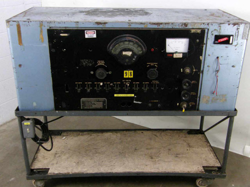 United Manufacturing 2760-G  Type A-1 Aircraft Generator Test Stand