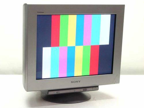 "Sony GDM-F520  21"" Trinitron CRT Color Graphic Display"