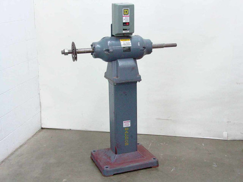 Baldor 1252  3HP Buffer with Stand
