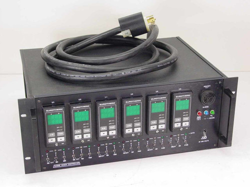 Eurotherm 6006B  Controller with 6 Model 808 controllers