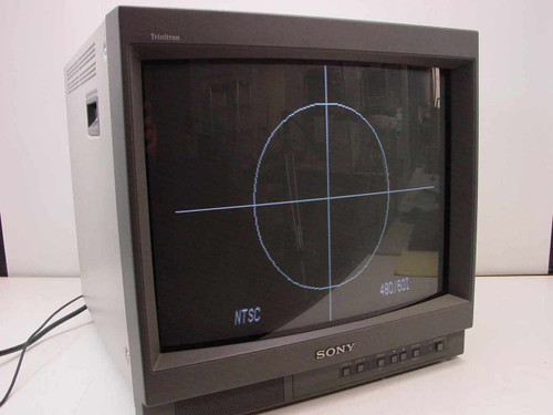 Sony PVM-20L1  HR Trinitron Color Video Production Monitor 19""