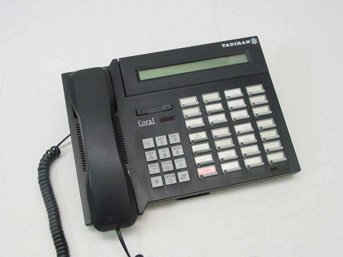 Tadiran DKT-2321  Coral Digital Key Telephone-Black