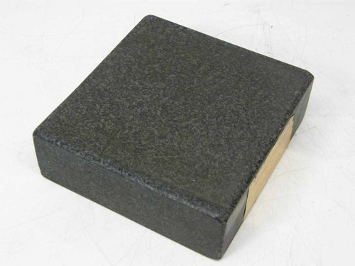 """Granite 6.5""""x6.25""""x2"""" inches  Surface Plate Flat for Optical Experiments"""