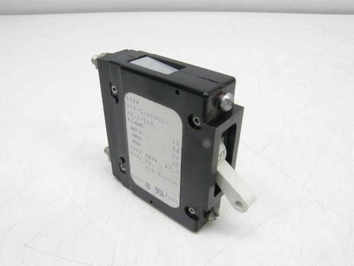 Airpax 205-1-1REC2-52-1-100  Circuit Breaker 10A, 250VAC Aux . SW.