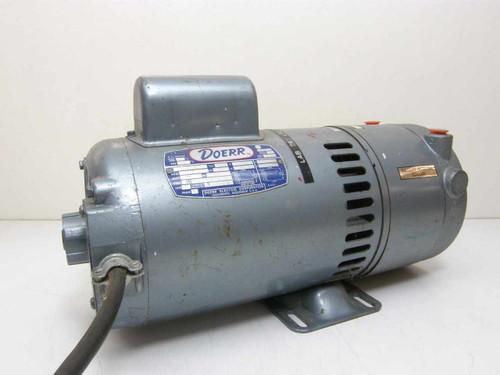 Gast 1022-V103-0272X  Oil-Less Vacuum Pump~Doerr Motor D272X