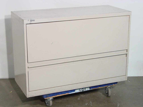 Steel Lateral File  2 Drawer File Cabinet - Used