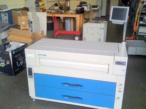 Kip Kip5000  Large Format Engineering Copier Network Printer