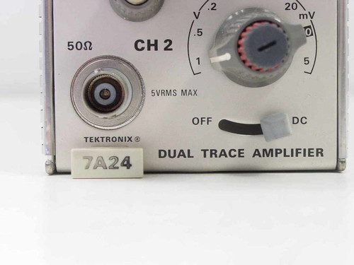 Tektronix 7A24  Dual Trace Amplifier Plug In