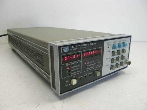 HP 3437A  System Voltmeter with HPIB