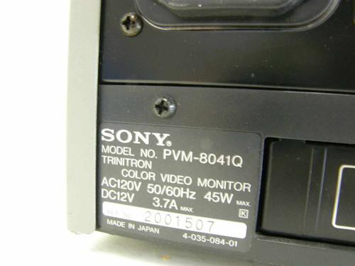 Sony PVM-8041Q  Monitor