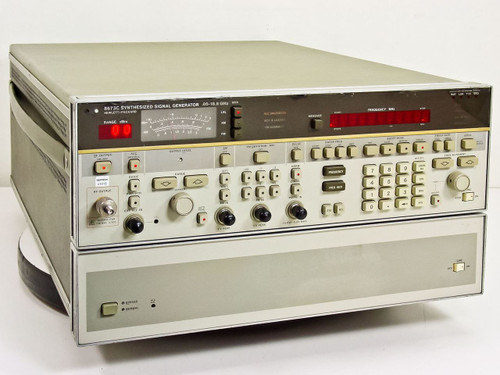 HP 8673C  Synthesized Signal Generator .05 to 18.6 GHz