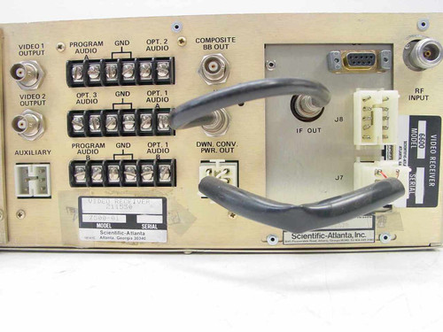 Scientific Atlanta 7500-  6600 Video Receiver Rackmount System