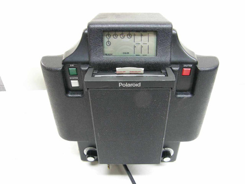Polaroid MX-4  4 Portrait Photo ID / Passport Camera with LCD
