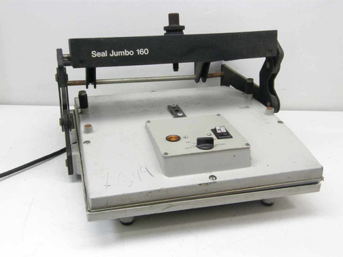 Seal Jumbo 160  Laminating Dry Mount Press 1,000 watts As Is