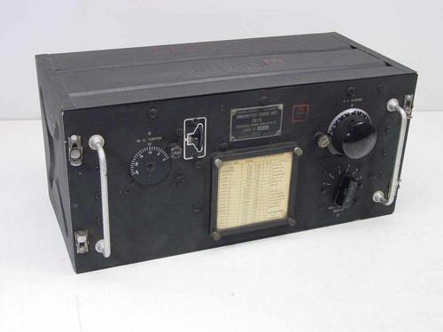 Signal Corps/General Electric TU-7-B  Transmitter Tuning Unit 4500-6200 Kilocycles