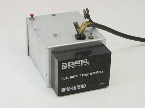 Datel Systems, Inc. BPM-15/200  Dual Output Power Supply with Hobby Box