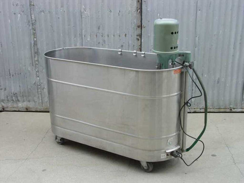Ille Model T  100-54 Stainless Soak Tank and Pump