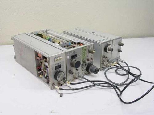 Tektronix 7L13  Spectrum Analyzer w/ TR502 Tracking Generator