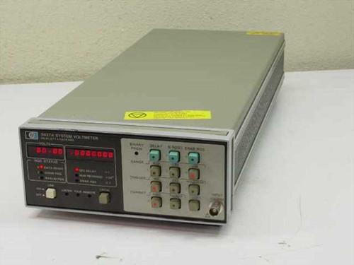 Hewlett Packard 3437A  System Voltmeter