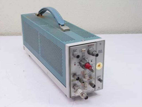 Tektronix TM501  Power supply w/ AM502 Differential Amplifier - As Is