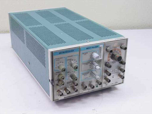 Tektronix TM503  Power supply with three plug in modules