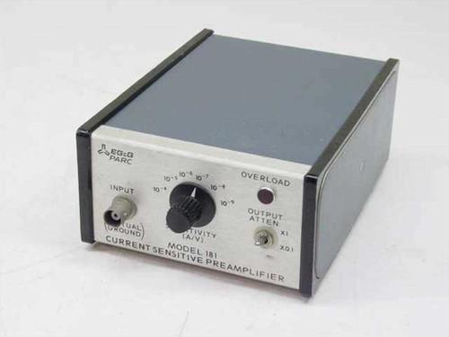 EG&G Parc 181  Current Sensitive Preamplifier