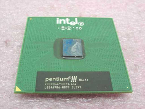 Intel Pentium 3 PIII 733Mhz/256/133/1.65V Processor (SL3XY)