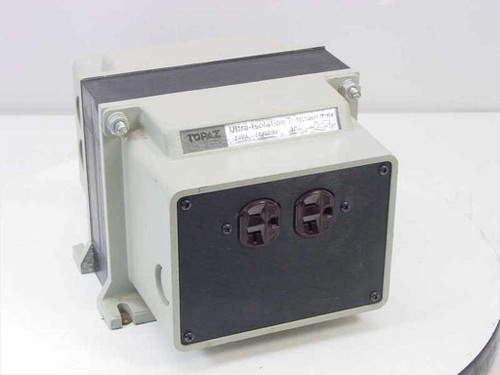 Topaz Electronics 91001-12  Ultra-Isolation Transformer Noise Suppressor