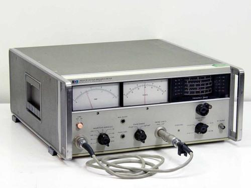 Hewlett Packard 4815A  RF Vector Impedance Meter 0.5 - 108 MHz with Probe