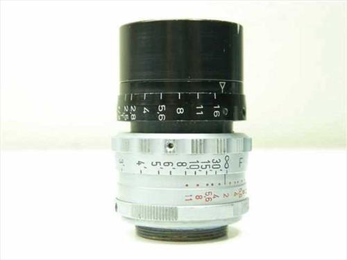 Apochromat  kinoptik Paris C Mount  1/2 F=25mm ~ 2/25 mm