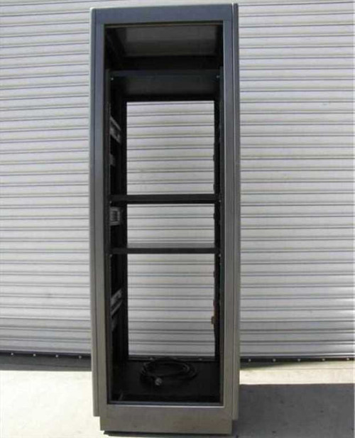 "19"" 34U Rack Mount  Cabinet with AC Power Strip & Shelves with Wheels"