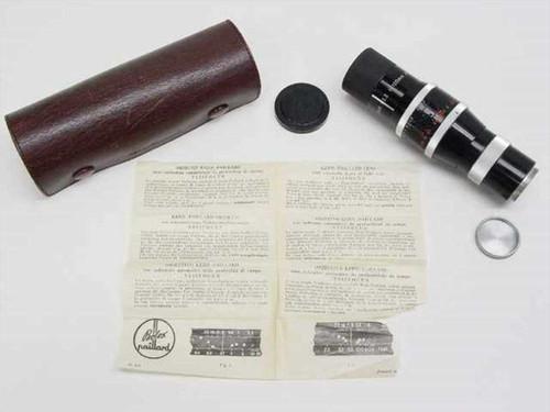 Kern Paillard YVAR 1 3,3 F=100mm AR  Visifocus Scale Lens