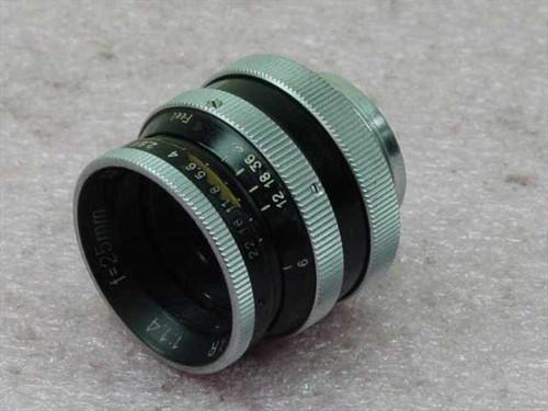 Switar 1,4/25mm   AR lens