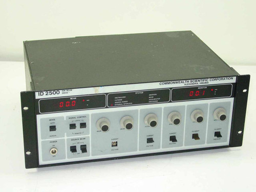Commonwealth Scientific Corp. ID-2500  Ion Beam Drive - Rackmount - As-Is