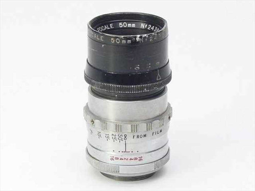 Kinoptik Paris Apochromat   F 2 Focale 50mm C mount 2/50 mm