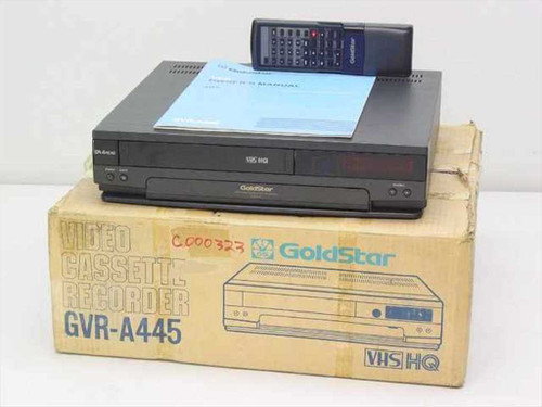 GOLDSTAR GVR-A445  Video Cassette Recorder - Vintage