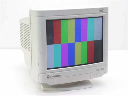 "Gateway CPD-15F23  Vivitron 15"" CRT Monitor Color Computer Display"