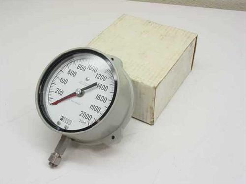 Weksler SA24-3PSP-LWBX  Pressure Gauge 0-2000 LB.