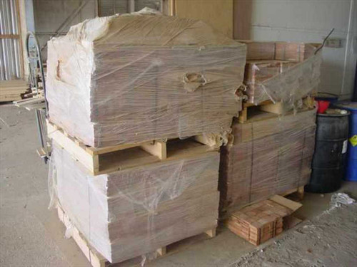 "Mesquite 3""x3""  Solid End block Hardwood Flooring 2,200 Square Fee"