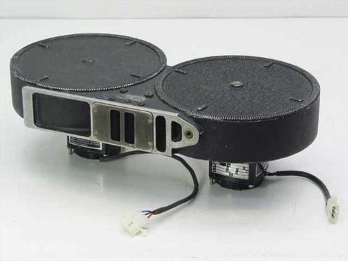 Mitchell Camera Corp. S4L  400' 35mm Motor Driven Film Reel Magazine