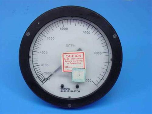 ITT Barton 0227  Differential Pressure Indicator