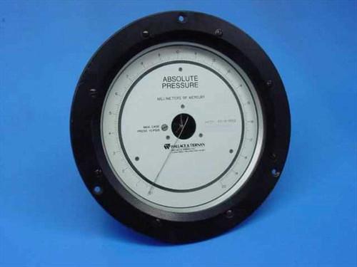Wallace & Tiernan 6IC-ID-0020  Absolute Pressure Gauge