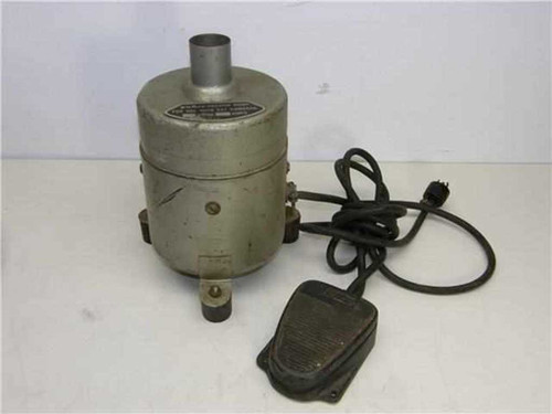 NuArc SST Camera Systems   Vacuum Pump with foot pedal