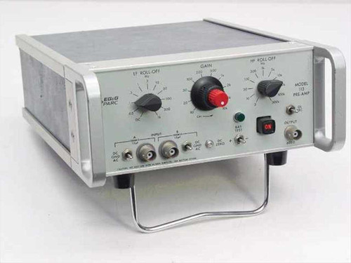 Princeton Applied Research 113  Pre-Amp with HP and LP Filtering