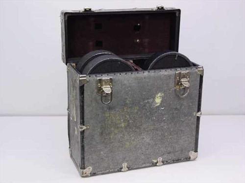 Mitchell Camera Corp. S4L  400' 35mm Film Reel Magazine w/case