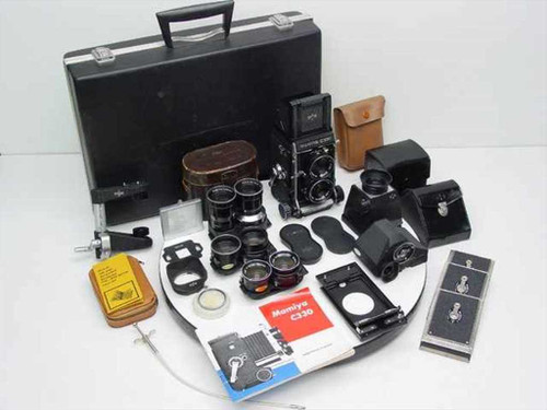 Mamiya C330  Professional Twin-Lens Reflex Camera Kit