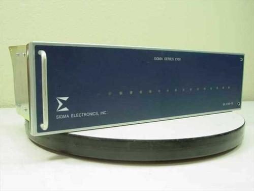 Sigma Electronics Inc. SS-2100-16  16 Slot Powered Card Frame