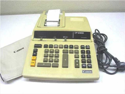 Canon CP 1230 D II  10 Key Calculator