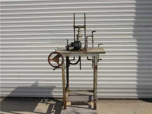 Groove Tube Antique  Glass Blowing Lathe Electronic Tube Mfg. Equipment